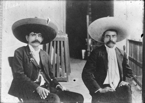 Ignacio de la Torre y Emiliano Zapata