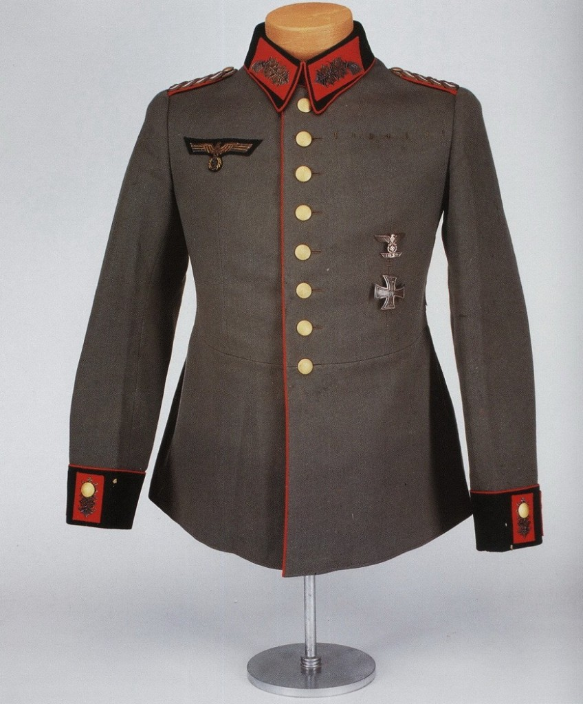 Uniforme del General Mayor Erwin Rommel