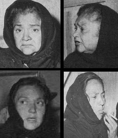 Carmen, Delfina, María de Jesús y Luisa González Valenzuela