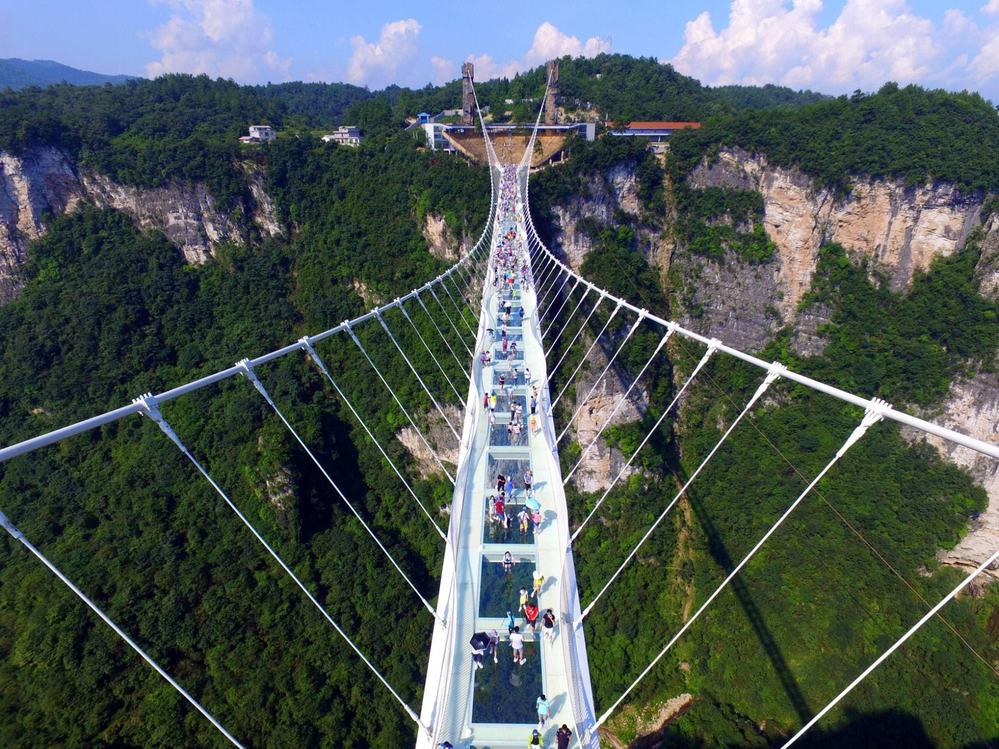 Zhangjiajie es uno de los parques naturales más visitados de China y está reconocido por la Unesco como Patrimonio de la Humanidad desde 1992.