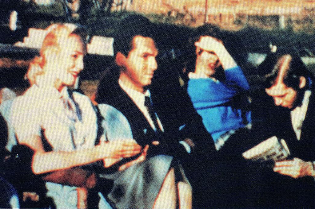 Tres Habitantes de Venus en abril de 1957. Jill, Donn Thor y Valiant Thor.