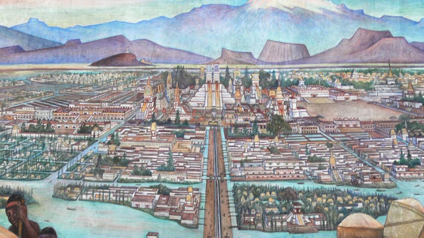 ciudades pregispánicas