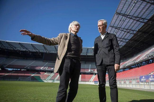 Max Peintner y Klaus Littmann
