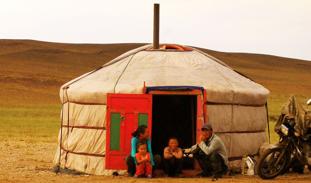 nómada Yurta