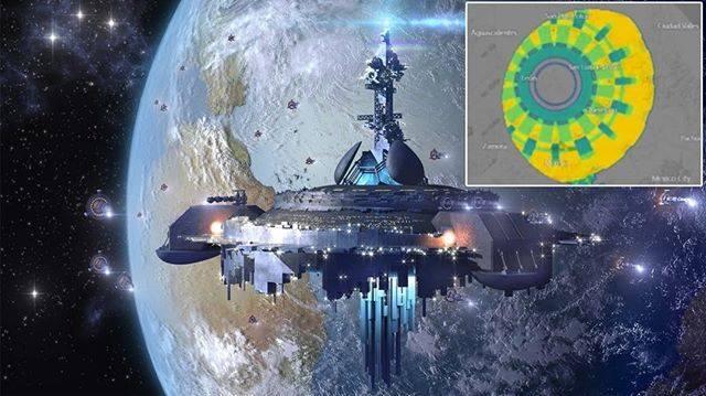 Anomalía, Atmosfera, kilómetros, México, México desde el espacio, OVNI, Radar, Radares, teoría