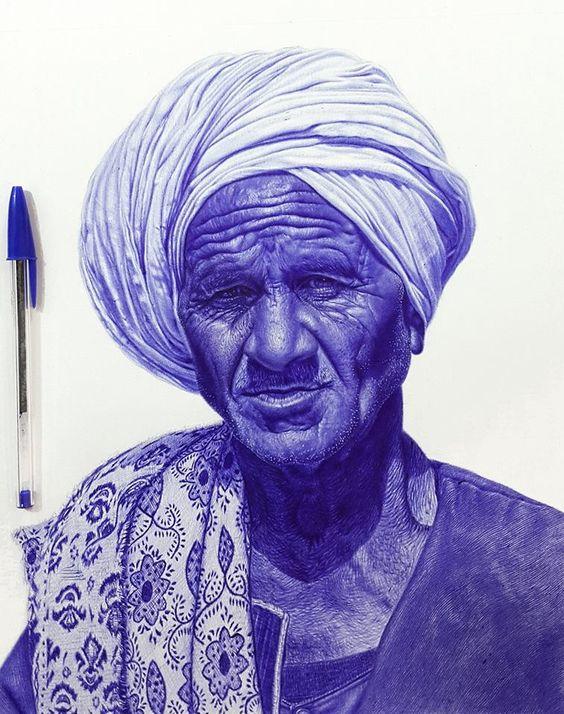 mustafa, khodeir, artita, boligrafo, azul, egipcio