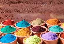 pinturas ecológicas, colores, verde, marrón, rojo, fabricar, pinturas naturales, frutas, plantas, vegetales