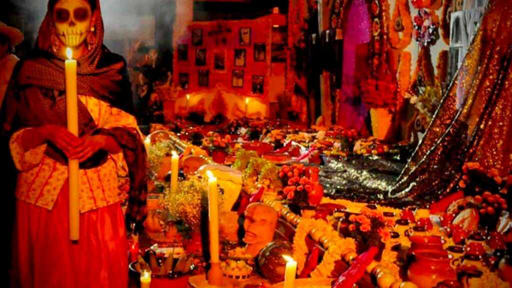 dia de muertos, flor, altar de muertos, miclan, inframundo, 1 y 2 de noviembre