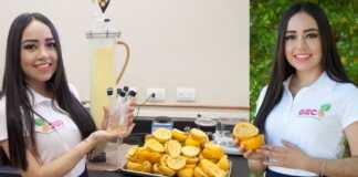 mexicana, México, naranja, cáscara de naranja, plástico, bolsas, bagazo, México, Giselle Mendoza, inventos, Forbes