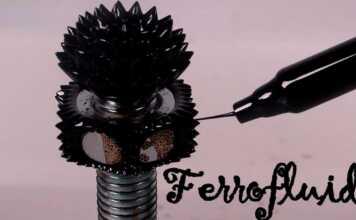 Artes, campos magnéticos, ferrofluidos, Industria, líquido magnético, nanopartículas, Nasa, Salud, Steve Papell, Tecnología