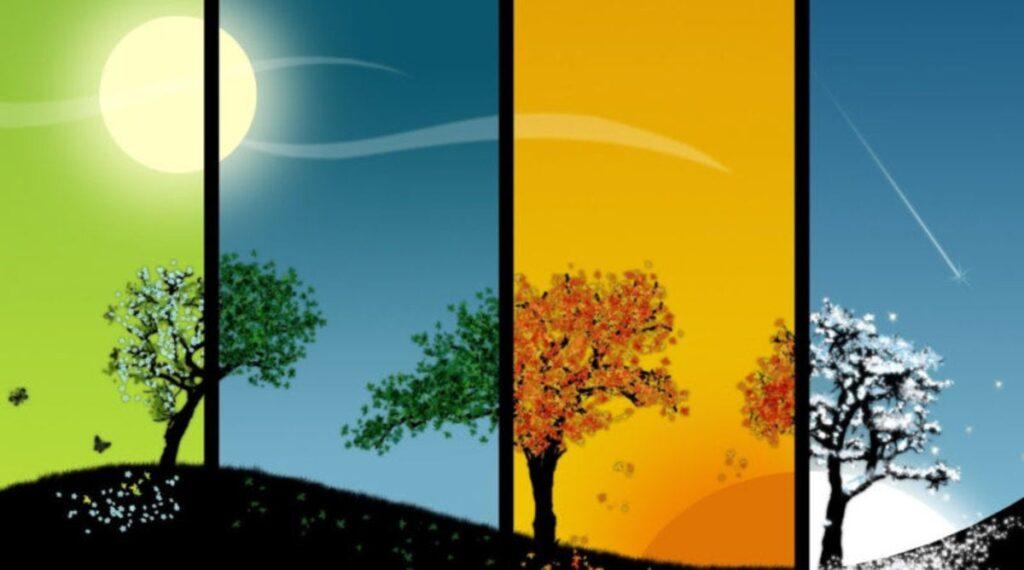 cabañuelas, estaciones del año, climas durante el año