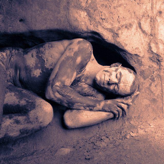 hibernar, humanos, comida, cuevas