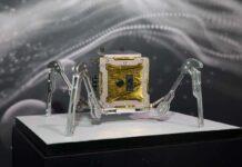 rover, spacebit, robot en forma de araña a la luna