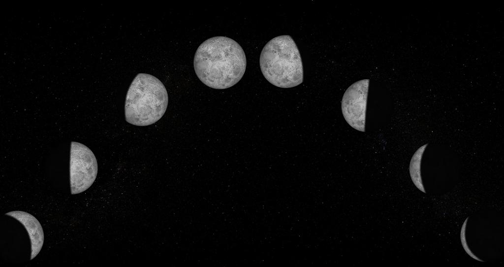 Fase Lunar principal 1